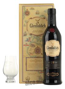 Glenfiddich 19 years Age Of Discovery виски Гленфиддик 19 лет Эйдж оф Дисковери