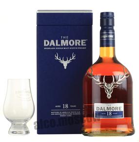 Dalmore 18 years виски Далмор 18 лет