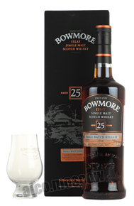 Bowmore 25 years виски Бомо 25 лет