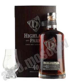 Highland Park 40 years виски Хайленд Парк 40 лет