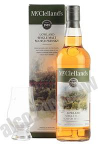 McClellands Lowland виски Макклелландс Лоуленд