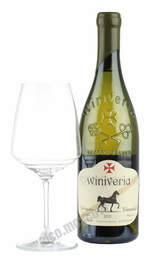 Winiveria Tsinandali грузинское вино Виниверия Цинандали