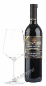 Teliani Valley Kindzmarauli грузинское вино Телиани Вели  Киндзмраули