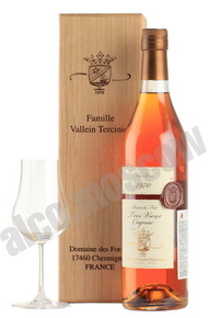 Tercinier Petite Champagne Vintage 1973 0,7l коньяк Терсинье Птит Шампань Винтаж 1973 года 0,7л