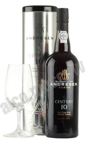 Andresen Century 10 Портвейн Андресен Сенчери 10