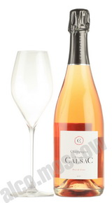Etienne Calsac Rose de Craie шампанское Этиен Кальсак Розе де Крайе