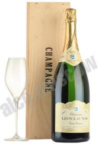 Leon Launois Brut шампанское Леон Лонуа Брют 1.5л