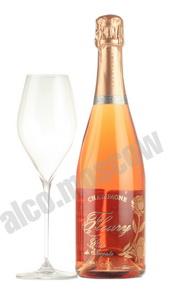 Fleury Rose De Saignee Шампанское Флери Роза Де Сагни