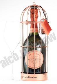 Laurent-Perrier Cuvee Rose Brut 0,75l Шампанское Лоран-Перье Кюве Розе Брют 0,75л розовое брют п/у клетка