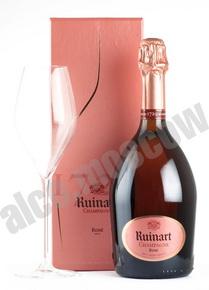 Ruinart Rose Brut 0,75l Шампанское Рюинар Розе Брют набор из двух бутылок 0,75л в п/у