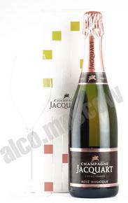 CHAMPAGNE JACQUART ROSE MOSAIQUE 0,75l Шампань Жакарт Розе Мозаик 0,75л в п/у