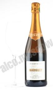 Marguet Extra Brut Blanc de Noirs 1er Cru 0,75l Шампанское Марге Экстра Брют Блан де Нуар Премиер Крю 0,75л