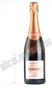 Шампанское Марге Экстра Брют Розе Гран Крю 0,75л