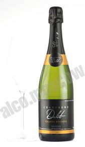 Champagne Delot  Cuvee Grande Reserve Brut 0,75l Шампанское Дело Гранд Резерв Брют 0,75л