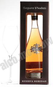 Segura Viudas Cava Brut Rose Reserva Heredad шампанское Сегура Виудас Кава Брют Розе Ресерва Эредад