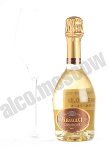 Ruinart Blanc de Blancs шампанское Рюинар Блан де Блан 0.375л