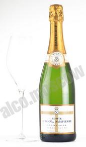 Comte Audoin de Dampierre Demi-Sec шампанское Дампьер Деми-Сек