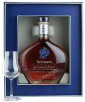 Delamain Grand Champagne Extra decanter & gift box коньяк Деламен Гран Шампань Экстра декантер и п/у