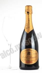 Herbert Beaufort Carte Or Grand Cru шампанское Эрбер Бофор Карт Ор Гран Крю 0.375л