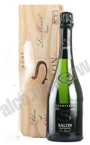 Salon Le Mesnil Blanc de Blancs 2002 шампанское Салон Ле Мениль Блан де Блан 2002