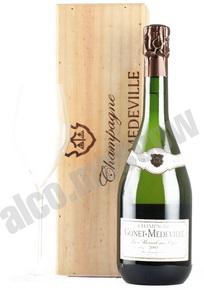 Gonet-Medeville Champ d`Alouette Le Mesnil sur Oger Grand Cru 2002 шампанское Гонэ-Медвиль Шамп д`Алуэтт Ле Меснил сюр Огер 2002