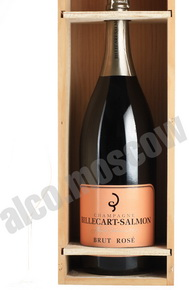 Billecart-Salmon Brut Rose 3l шампанское Билькар Сальмон Брют Розе 3л