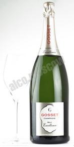Gosset Brut Excellence 1.5l шампанское Госсе Экселанс Брют 1.5л