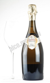 Gosset Grand Blanc de Blancs gift box шампанское Госсе Гран Блан де Блан п/у