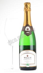 Willm Cremant d`Alsace шампанское Вильм Креман д`Эльзас