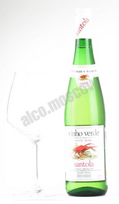 Santola DOC Vinho Verde португальское вино Сантола DOC Виньо Верде зелёное вино