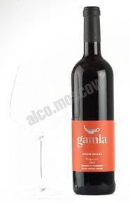 Gamla Sangiovese 2012 израильское вино Гамла Санджиовезе 2012
