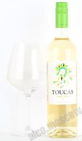 Toucas Vinho Verde DOC Вино Токаш ДОК Виньо Верде