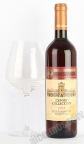 Вино Столовое розовое полусладкое Export Collection