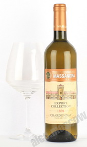 Massandra Chardonnay Export Collection Вино Шардоне Массандра серии Export Collection