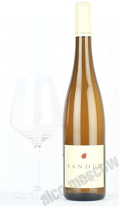 Sander Mettenheimer Riesling S 2014 Немецкое вино Сандер Меттенхаймер Рислинг С 2014