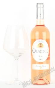 Bernard Magrez Oustric Merlot Vin de Pays d`Oc Французское вино Устрик Мерло