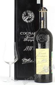 Lheraud Grande Champagne 1975 0,7l  Коньяк Леро Гранд Шампань 1975г. 0,7л