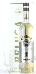 Beluga Noble водка Белуга Нобл 0.7l в белой тубе