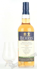 Berry Bros. & Rudd Berry`s Linkwood 0,7l Виски Берри Брос энд Радд Беррис Линквуд 1993г. 0,7л в д/у