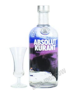 Absolut Kurant водка Абсолют Черная Смородина 0.7l