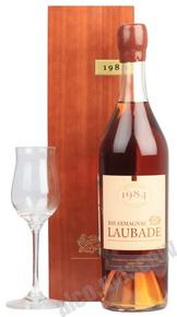 Арманьяк Chateau de Laubade 1984 арманьяк Шато де Лобад 1984 года