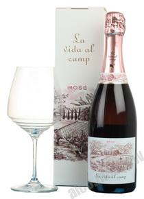 La Vida al Camp Cava Rose 0,75l Шампанское Ла Вида аль Камп Розе Кава 0,75л