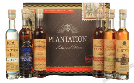 Ром Plantation Набор 6шт