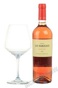 Los Haroldos Malbec Rose аргентинское вино Вино Лос Аролдос Мальбек Розе