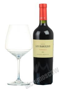 Los Haroldos Tempranillo 2014 Аргентинское вино Лос Арольдос Темпранильо 2014