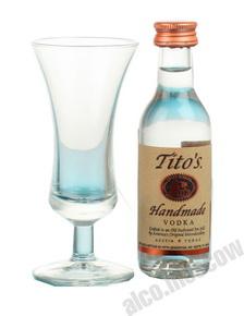 Водка Титос 0,05л