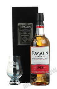 Tomatin 1988 0,7l Виски Томатин 1988 года 0,7л в п/у