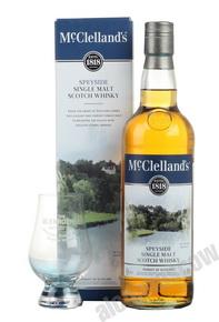 McClellands Speyside 0,7l Виски Макклелландс Спейсайд 0,7л в п/уп