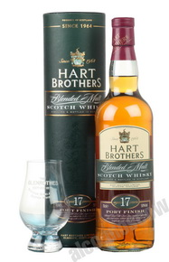 Hart Brothers 17 years Виски Харт Бразерс Блендед Молт Порт