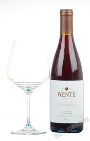Wente Riva Ranch Pinot Noir Вино Венте Рива Рэнч Пино Нуар